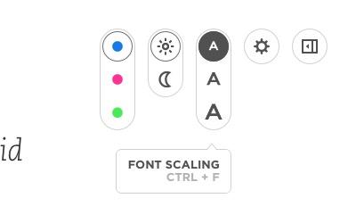 Cool Evernote Presentation -mte- Settings - Font