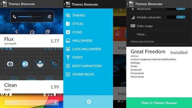 CyanogenMod Theme Selector C-App