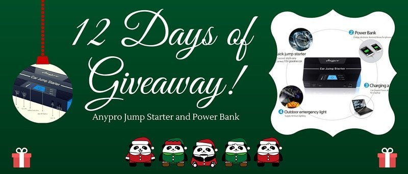 Anypro Jump Starter and Power Bank