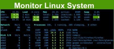 Install and Configure Glances On Ubuntu