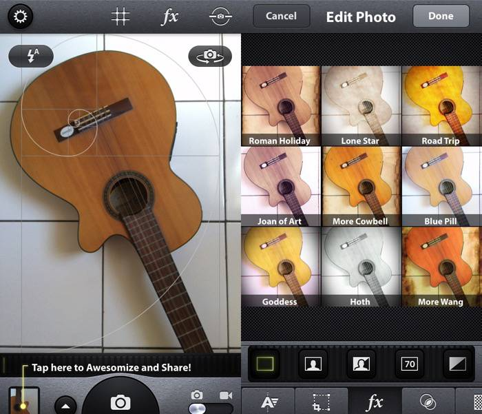 iPhoneography -mte- Camera Awesome