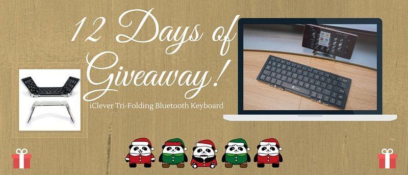 iClever Tri-Folding Bluetooth Keyboard