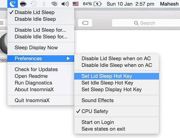 prevent-mac-sleeping-insomniax-setkey