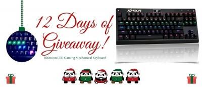 KKmoon LED Gaming Mechanical Keyboard