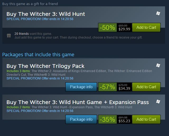 pc gaming misconceptions - witchersale