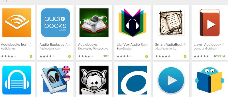 5 of the Best Audiobook Apps for Android