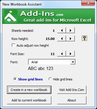 excel-addins-workbook-assistant