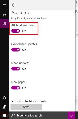 cortana-academic