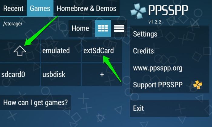 Play-PSP-Games-On-Android-Access-SD-Card-Folder