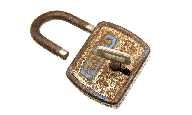 encrypted-padlock