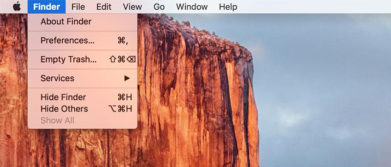 How to Hide the Menu Bar in OS X El Capitan