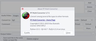 Convert Between Several File Formats on Linux with FF Multi Converter