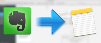How to Transfer Notes From Evernote to Apple Notes