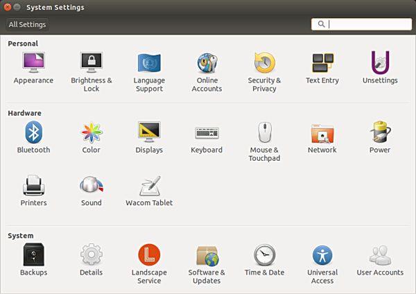 ubuntu-general-settings