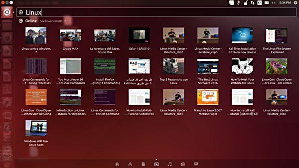 ubuntu-unity-dash-online-on