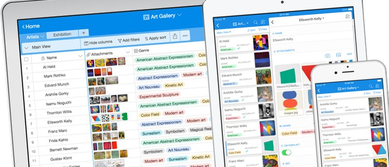 Organize Anything with Airtable - Online and Mobile Modern Database