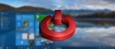 How to Remove Shutdown Button from Windows 10 Login Screen