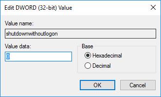 win10-remove-shutdown-button-value-data-to-0