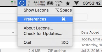 Lacona -mte- Open Preferences