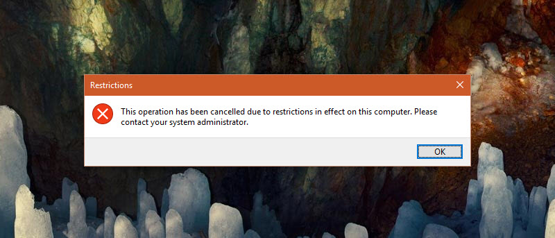 How to Disable Run Dialog Box in Windows