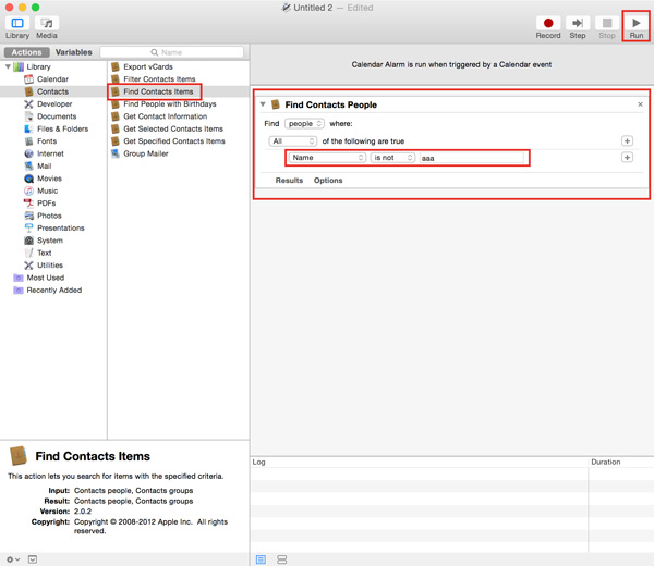 Backup-Contacts-Functions