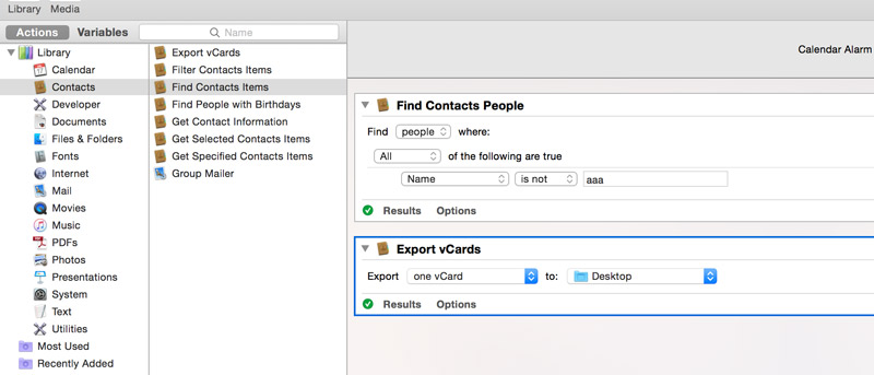 How To Automatically Back Up Contacts in OS X