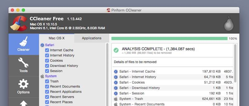 CCleaner for Mac: As Good as Windows?