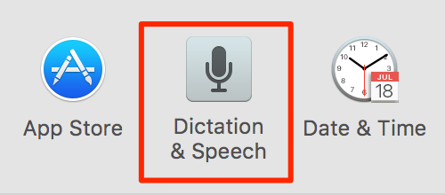 how to turn off dictation on mac