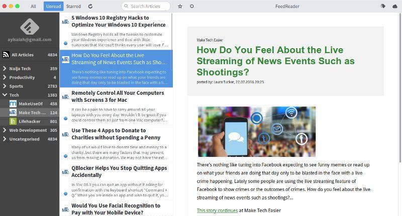 gnome-apps-feedreader