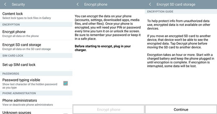 phone-security-encrypt-android