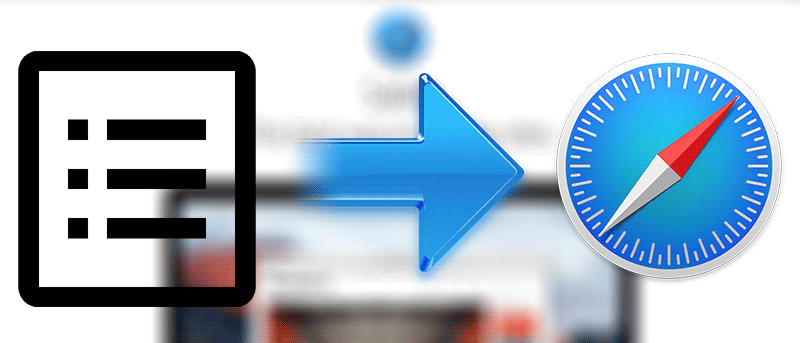 How to Import Data to Safari From Another Web Browser on Your Mac