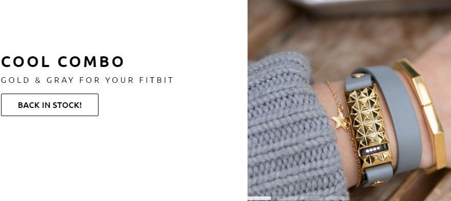 Fashionable wearable tech - FitBit