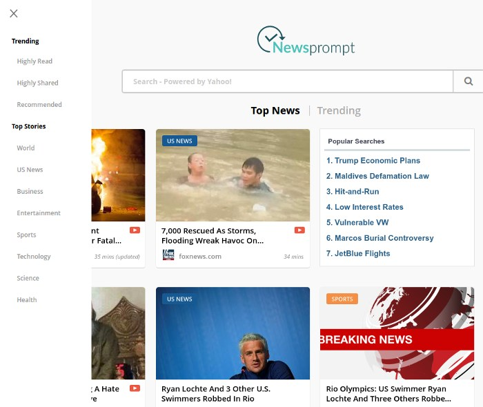 chrome-trends-newsprompt