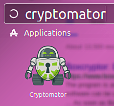 cryptomator-ubuntu-dash