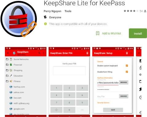 keypass-keepshare-lite