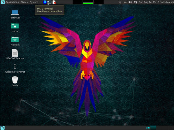 parrot-desktop