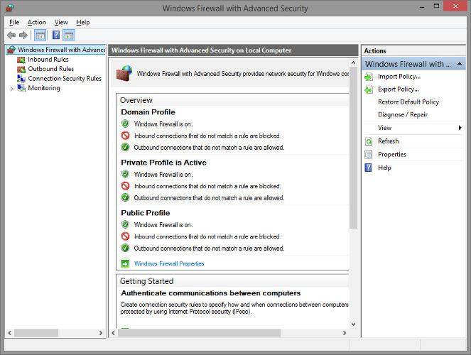 firewall-logs-advanced settings window
