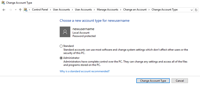 settings-not-working-account-type