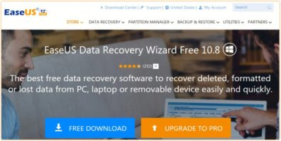 Quickly Restore Deleted Files with EaseUS Data Recovery Software