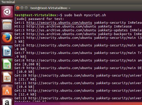 linux-scripting-running-a-script