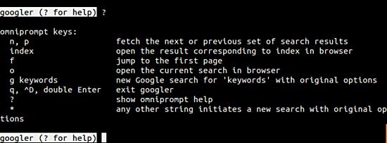 googler-runtime-options