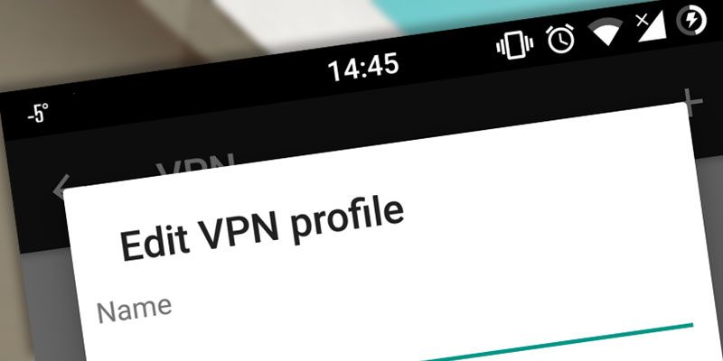 how to make a vpn server on android