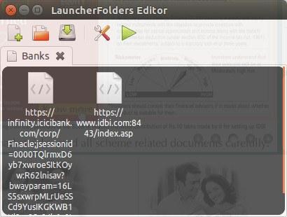 Unity Launcher Folders web-links