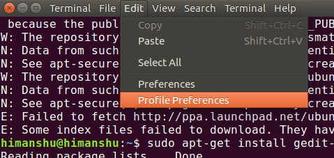 command-line-terminal-edit-menu