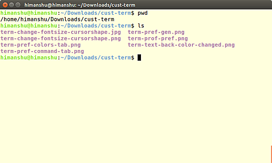 command-line-terminal-text-color-changed
