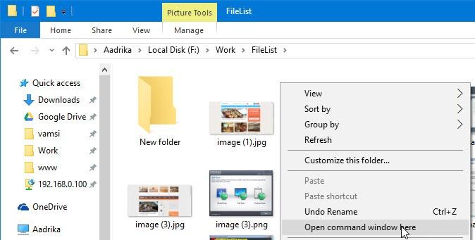 create-file-list-windows-open-command-prompt-here