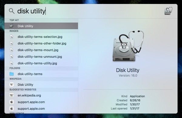 disk-utility-terms-spotlight-search
