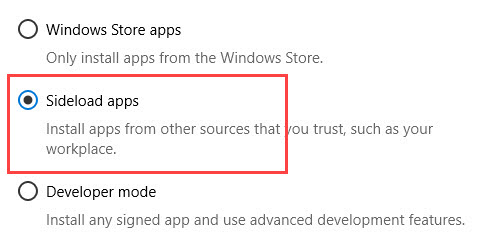install-appx-files-win10-select-sideload-option