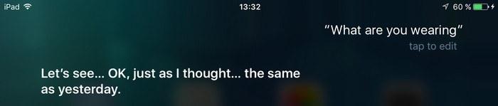 Siri-Wearing