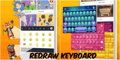 Redraw Keyboard for Android: Emojis, Stickers and Themes Galore